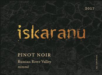 2017 Pinot Noir Russian River Valley mimmä