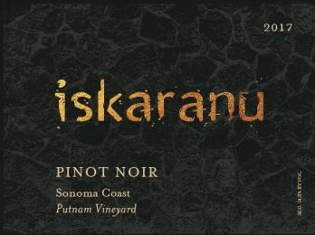 2017 Pinot Noir Sonoma Coast Putnam Vineyard